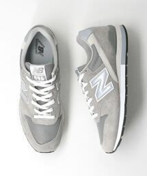<New Balance(ニューバランス)>CM996 GR2/NV2 スニーカー