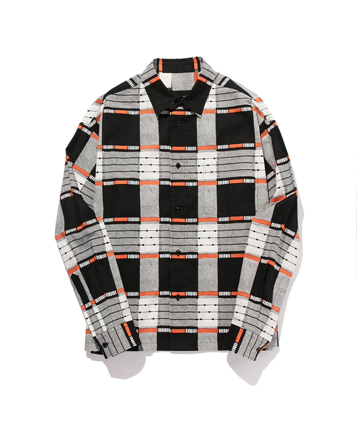 N.HOOLYWOOD SPRING & SUMMER 2019 COLLECTION LINE LONG SLEEVE SHIRT (ORIGINAL CHECK)