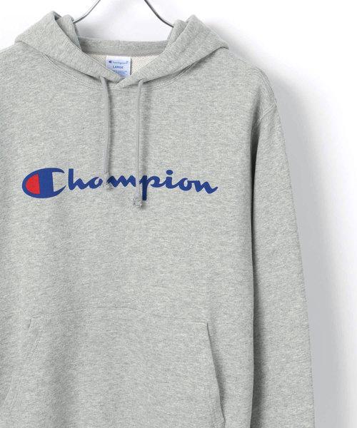 Champion/チャンピオン ロゴ プルオーバー スウェット パーカー フーディー