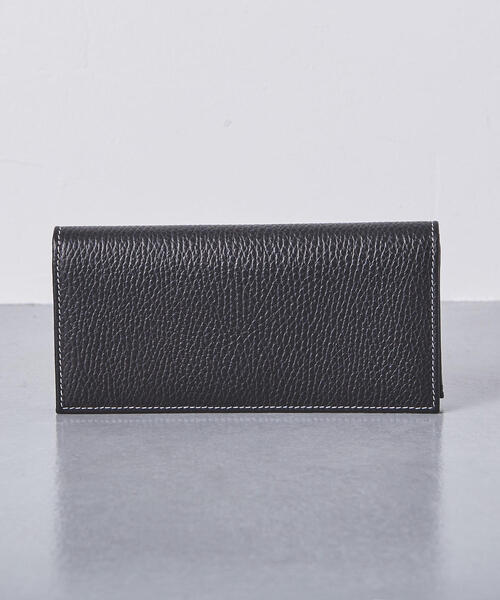 <Whitehouse Cox(ホワイトハウスコックス)>シボ S-9697 LONG WALLET†