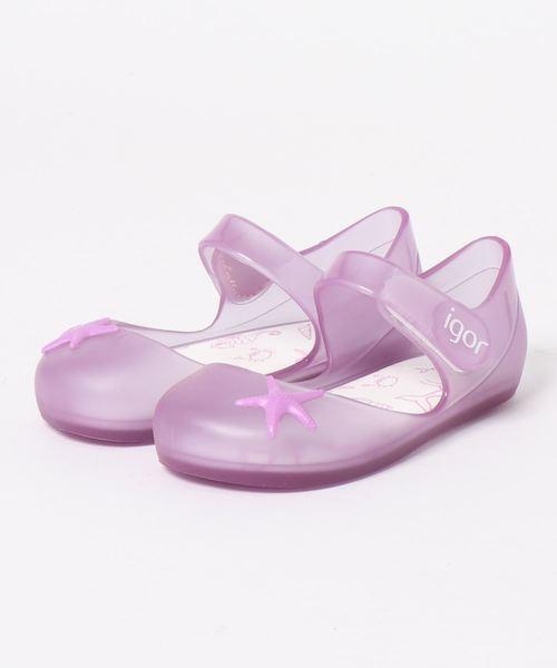 igor(イゴール)の「igor/イゴール/ Kids sandals Kids sandals/キッズサンダル 水遊び/MIA ESTRELLA/スターフィッシュ(サンダル)」|パープル