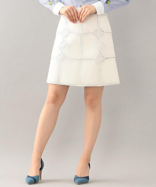 速くおよび自由な 【セール】【LOVELESS】WOMENS カギバリ編ブロッキングスカート(スカート) WOMENS,ラブレス|LOVELESS(ラブレス)のファッション通販, 上河内町:c102d399 --- ahead.rise-of-the-knights.de