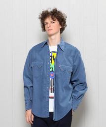 <H>CORDUROY WESTERN SHIRT/シャツ