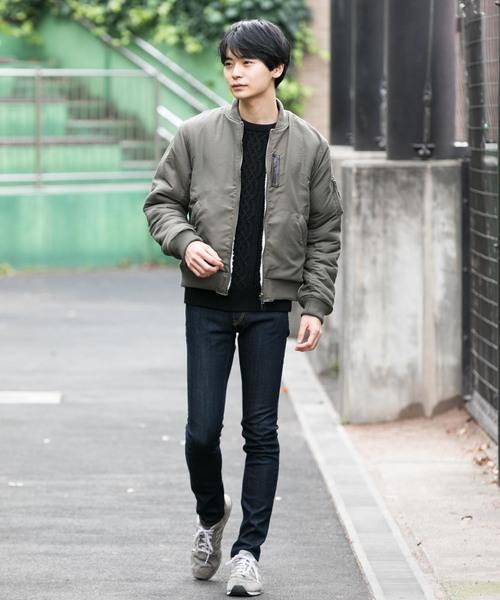【ALWAYSGOODTIME】裏ボアMA-1リバーシブルJK