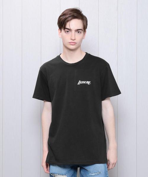 <PASADENA LEISURE CLUB>BLACK T-SHIRT/Tシャツ