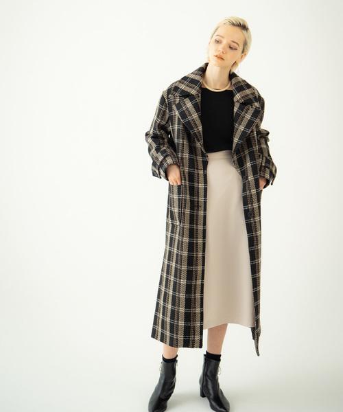★お求めやすく価格改定★ 【セール】Lenie check coat// レニーチェックコート(チェスターコート)|LAYMEE(レイミー)のファッション通販, 健康応塩団 源気商会:47048053 --- 888tattoo.eu.org