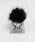 lala Born(ララボーン)の「ミンクファーアイリング(モバイルアクセサリー)」|ブラック