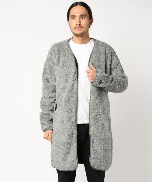 【正規逆輸入品】 Bonding Fleece Coat, 美里町 b184806c