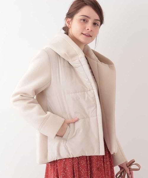 素晴らしい外見 異素材ドッキングジャケット(その他アウター)|OFUON(オフオン)のファッション通販, union3:5000e96d --- tsuburaya.azurewebsites.net