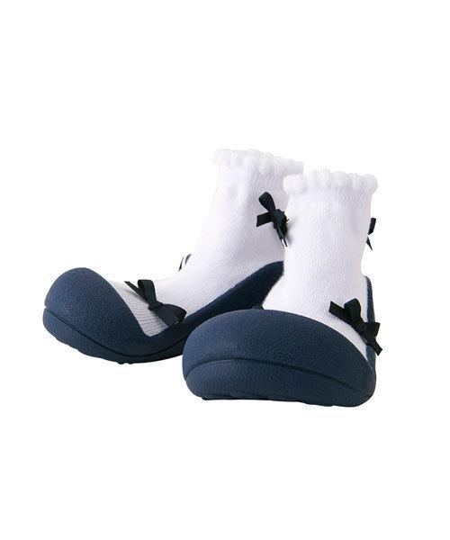 IDEA(イデア)の「Baby feet(ベビーシューズ)」 ネイビー