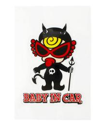 MY FIRST HYSTERIC(マイファーストヒステリック)の「DEVILKIN  BABY in car ステッカー(ステッカー/テープ)」