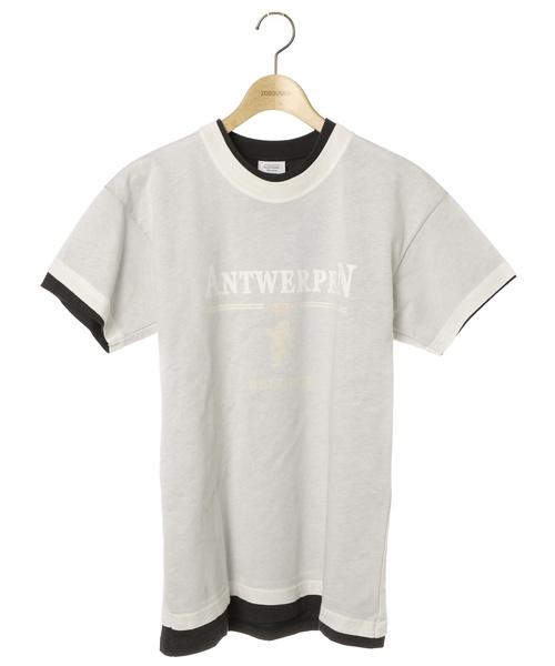 【正規品質保証】 【ブランド古着】プリント半袖Tシャツ【HANESコラボ】(Tシャツ/カットソー)|VETEMENTS(ヴェトモン)のファッション通販 - USED, 大瑠堂:cf5b90fd --- mailru.imp-v.ru
