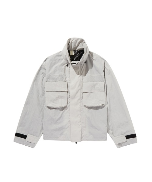 SPRING2020 STAND COLLAR BLOUSON