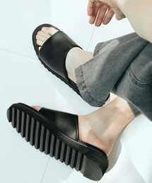 シャークソールサンダル/ベルクロ/ワンストラップ/ダブルモンク EMMA CLOTHES 2021SUMMERブラック系その他