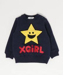 807ec1695512b X-girl Stages(エックスガールステージス)の「キラッキー裏シャギー長袖