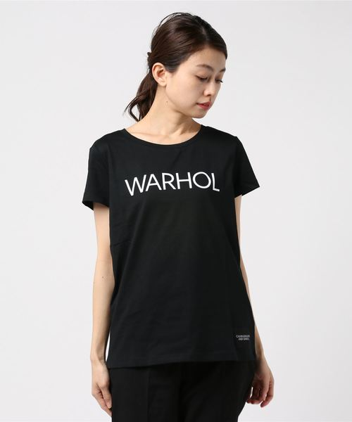 【CALVIN KLEIN JEANS】ANDY WARHOL ロゴ T シャツ