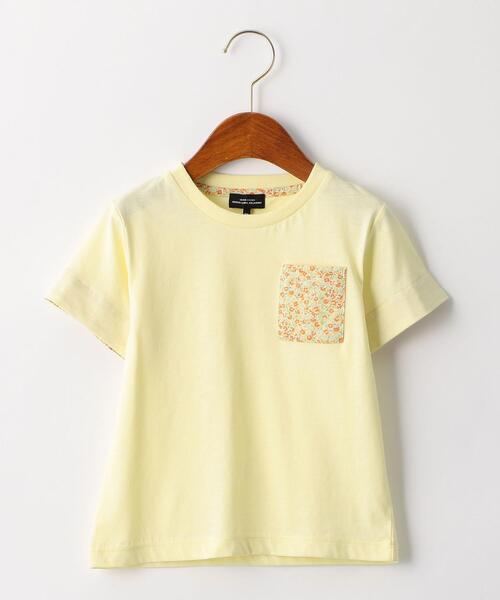 【キッズ】柄ポケットTシャツ