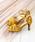 flune(フリューン)の「クロスデザイン ハイヒールサンダル(サンダル)」|イエロー