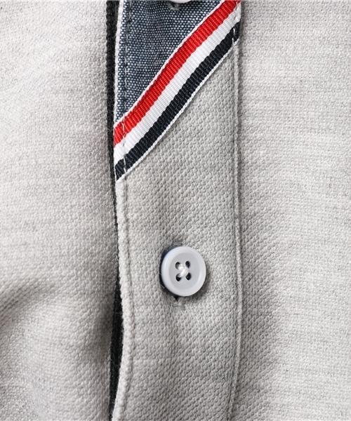 【OUTDOOR PRODUCTS】ZERO STAIN カノコ前立て切り替えポロシャツ