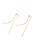 collecala(コレカラ)の「ウェーブバー&ロングチェーンイヤリング(イヤリング(両耳用))」|詳細画像