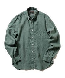 BEAMS PLUS(ビームスプラス)のBEAMS PLUS / リネン ボタンダウンシャツ(シャツ/ブラウス)