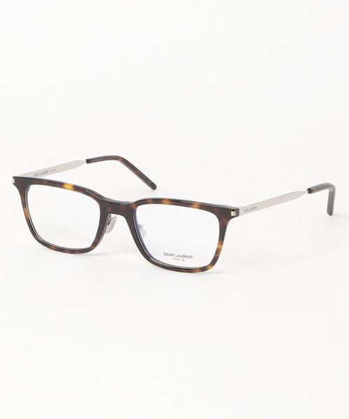 品質が完璧 【SAINT LAURENT/サンローラン】ウェリントン メガネ SL262 003, カーブティックイフ e3198d00