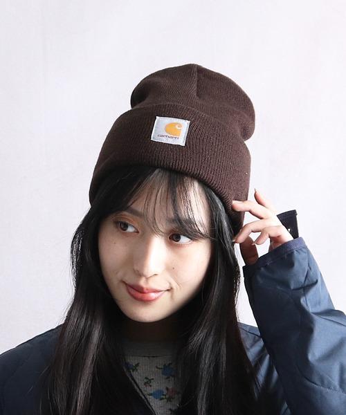 【 carhartt / カーハート 】# アクリルワッチ M Acrylic Watch Hat A18 帽子 ビーニー