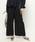 BARNYARDSTORM(バンヤードストーム)の「BARNYARDSTORM / 【otonaMUSE11月号掲載 佐田真由美さん着用】アンティークサテンパンツ(パンツ)」 ネイビー