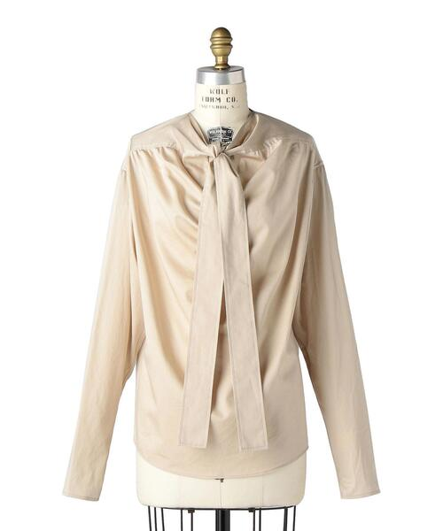 〈LEMAIRE(ルメール)〉 BLOUSE WITH TIE