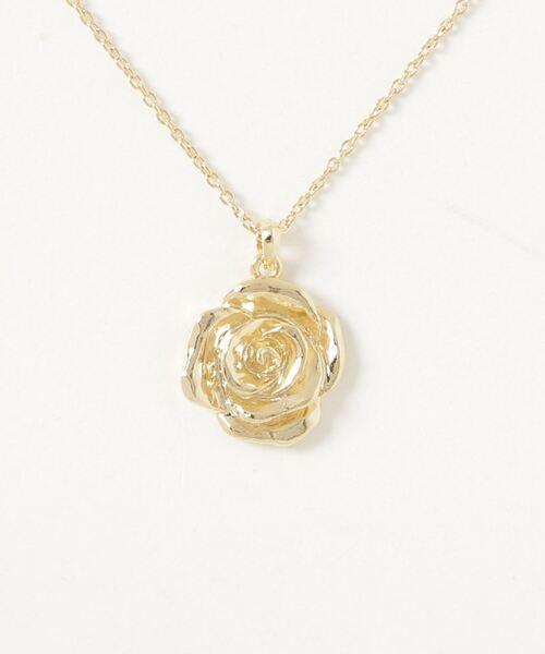 LEGENDA Silver Rose Necklace ~JAPAN MADE~