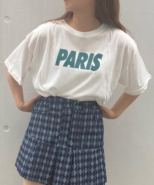 【titty&Co.PETIT】PARIS Tee