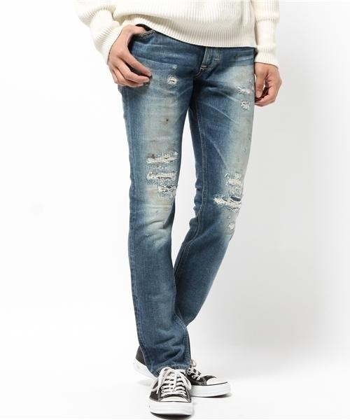 Lee×JOHN'S CLOTHING custom Tight Straight Denim