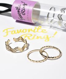 GOLDY(ゴールディ)の【ケース付き】Favorite Ring!�B(リング)