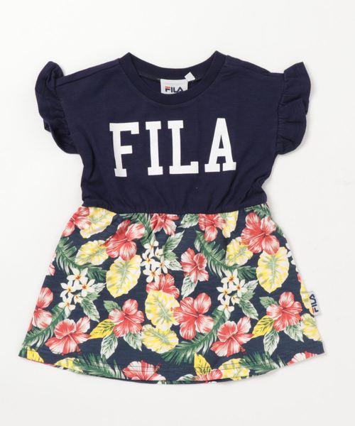 FILA/フィラ ボタニカル柄ワンピース
