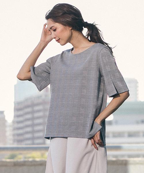 大切な 【セール】パリデアラエルグレンチェックカットソー(Tシャツ/カットソー)|la.f…(ラエフ)のファッション通販, t-chouchou:8ebd7359 --- fahrservice-fischer.de