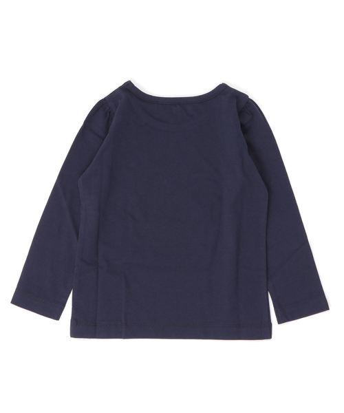 agnes b.(アニエスベー)の「SCJ6 E TS キッズ リボンプリントTシャツ(Tシャツ/カットソー)」|詳細画像