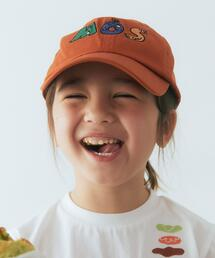 MOS BURGER ×green label relaxing kids キャップ A  / 帽子