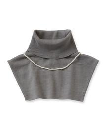 haco!(ハコ)のpilvee 取り外しプラパール付きタートルニットつけ衿(Tシャツ/カットソー)