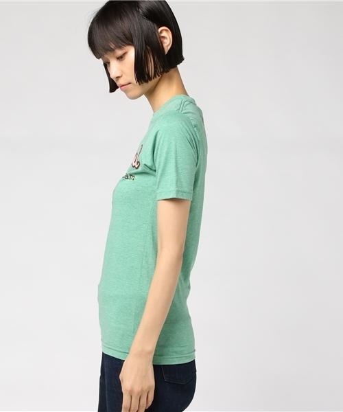 【数量限定】インポート Ruby Jewel Portland オリジナルTシャツ コットン グリーン レディース XS
