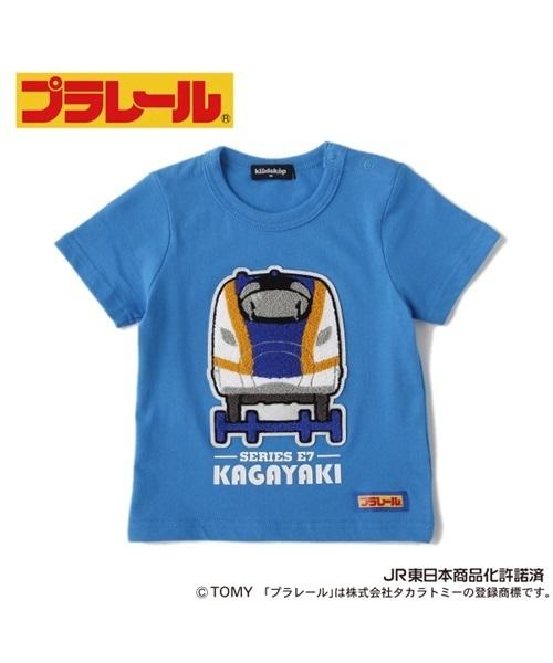 【プラレールコラボ】アップリケつきTシャツ