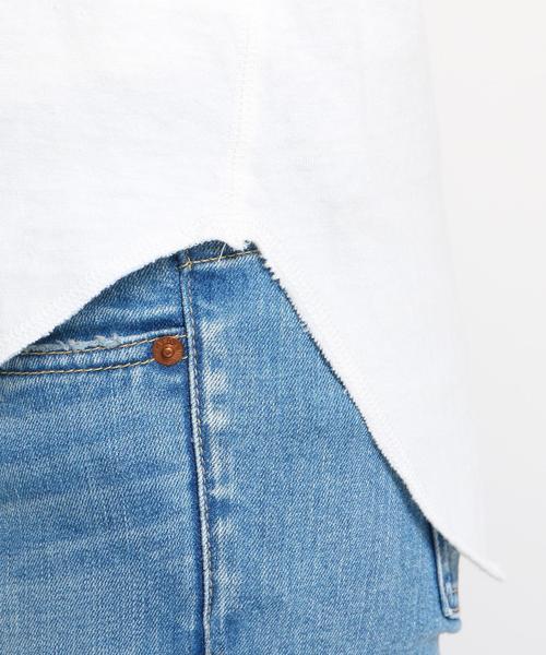 【洗える】コットンロングTシャツ