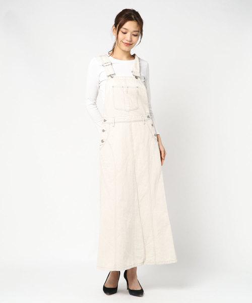 styles(スタイルス)の「CM Salopette Skirt CMA-1(スカート)」|オフホワイト