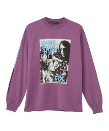 ROYAL TRUX/THANK YOU Tシャツパープル