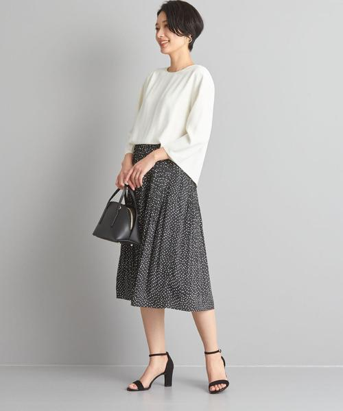 【WORK TRIP OUTFITS】★WTO CS コンビフレアー ワンピース