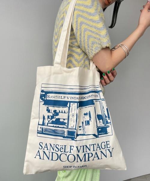 【SANSeLF】paris cotton bag sana12