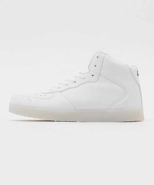 THE LIGHT HIGH TOP WHITE