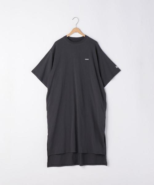 【1M】ドライTシャツワンピース