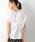 LEPSIM(レプシィム)の「ツイストデザインプルオーバーSS 835860(Tシャツ/カットソー)」|オフホワイト