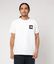 THE NORTH FACE(ザノースフェイス)のTHE NORTH FACE S/S SQUARE LOGO TEE (ホワイト)(Tシャツ/カットソー)