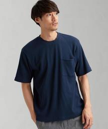 SC BRING ワッフル クルー SS 半袖 Tシャツ